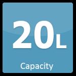 20 L Capacity