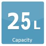 25 L Capacity