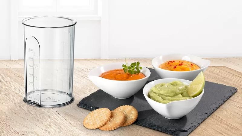 Pahar pentru mixarea și măsurarea ingredientelor