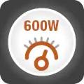 Putere 600W si 7 viteze