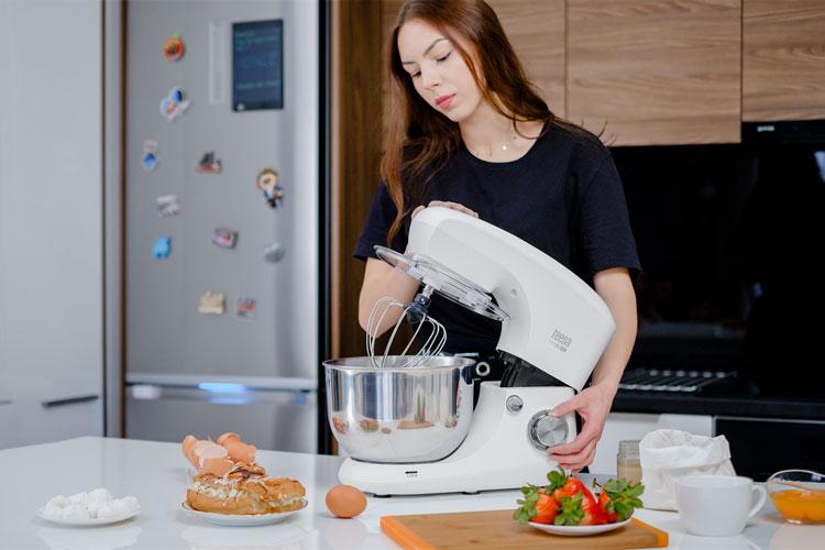 prezentare mixer planetar teesa Easy Cook TSA3545-B