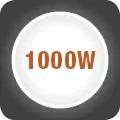 Putere 1000W si 10 viteze