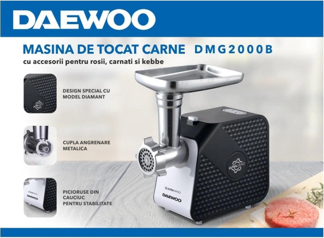 descriere Masina de tocat Daewoo DMG2000B