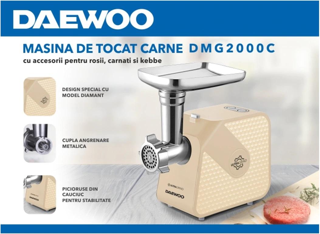 descriere Masina de tocat Daewoo DMG2000C