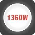 Putere maxima de 1360W