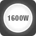 Putere maxima de 1600W