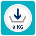 Capacitate de incarcare 9kg
