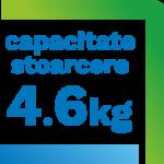 capacitate stoarcere 4.6kg