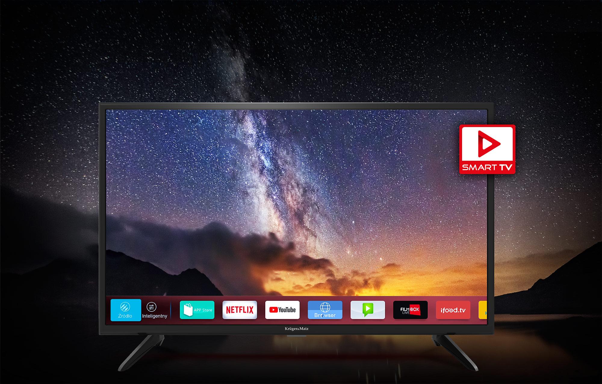 smart tv kruger&matz