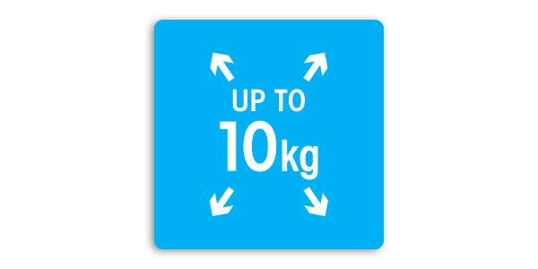 CAPACITATE MARE DE 10 KG