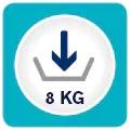 Capacitate de incarcare 8kg